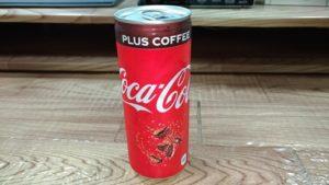 コカコーラプラスコーヒー ラベル面