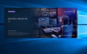 DaVinci Resolve 16パブリックベーター1立ち上げ